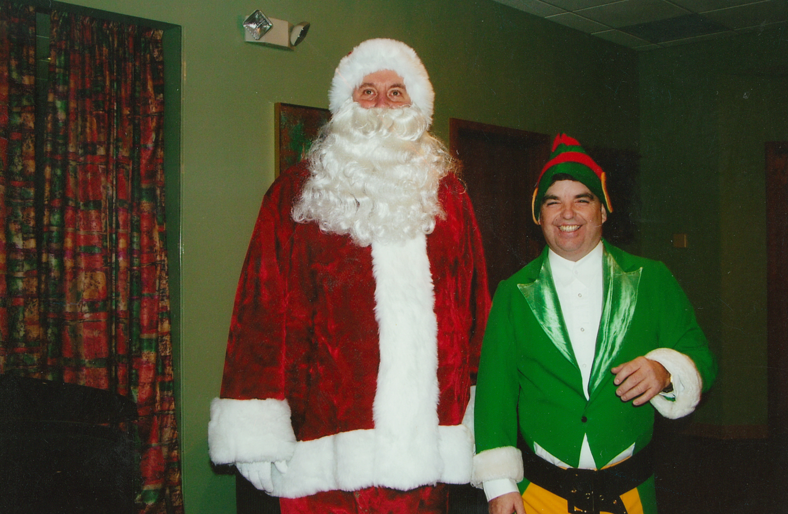 Christmas Party - Pete Duffy dressed as an elf